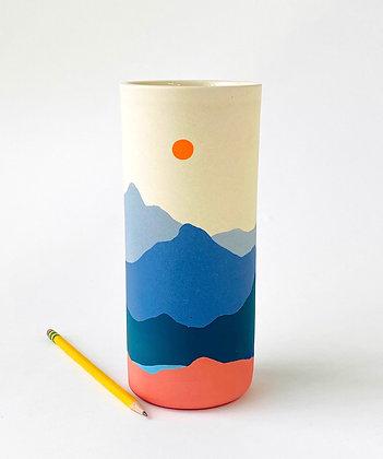 "Pescadero Vase 8.5"""