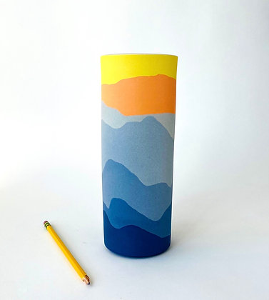 "Blue Ridge Vase 9"""