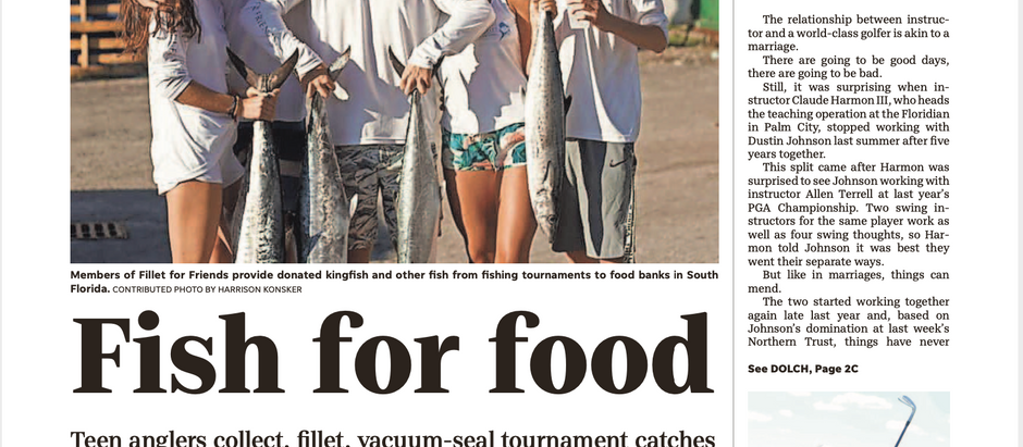 Fish For Food –– Teen anglers collect, fillet, vacuum-seal tournament catches
