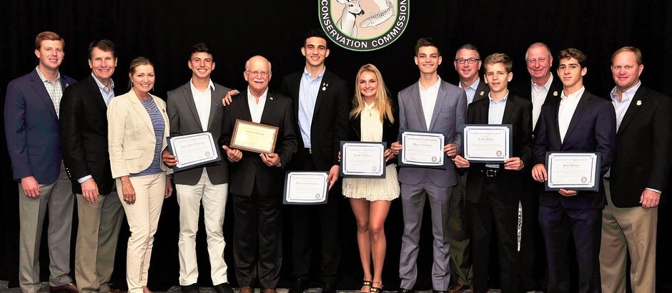 Charitable Fishing Teens Honored by FWC