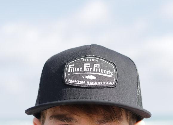 Black FFF Performance Trucker Hat