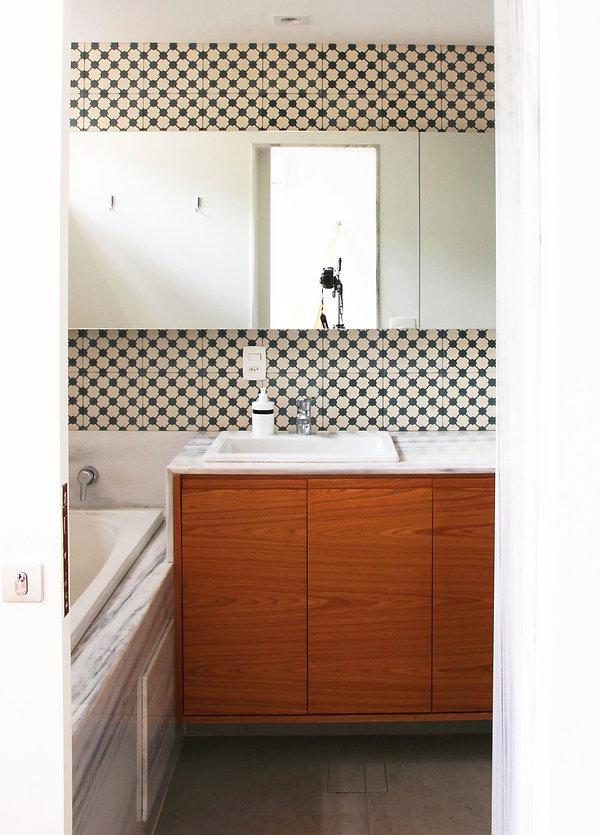 banheiro ladrilho