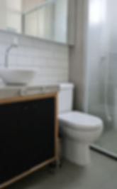 banheiro concreto