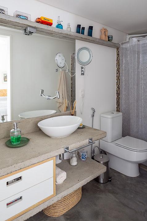 banheiro concreto cimento
