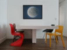 cadeiras coloridas sala
