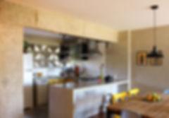 cozinha em concreto