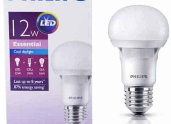 Philips หลอดไฟ LED Essential Daylight ขั้ว E27