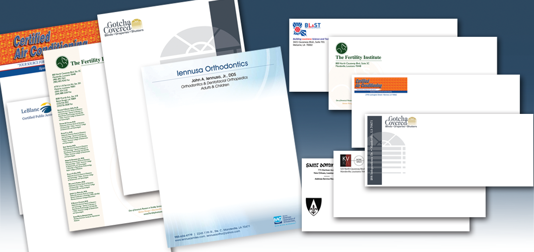 Letterheads and Envelopes