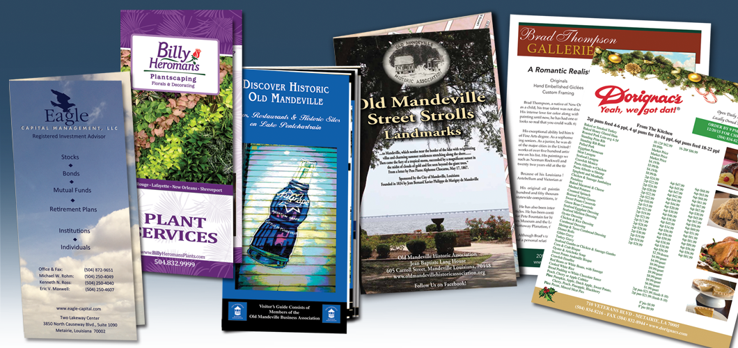 Various Brochures and Flyers
