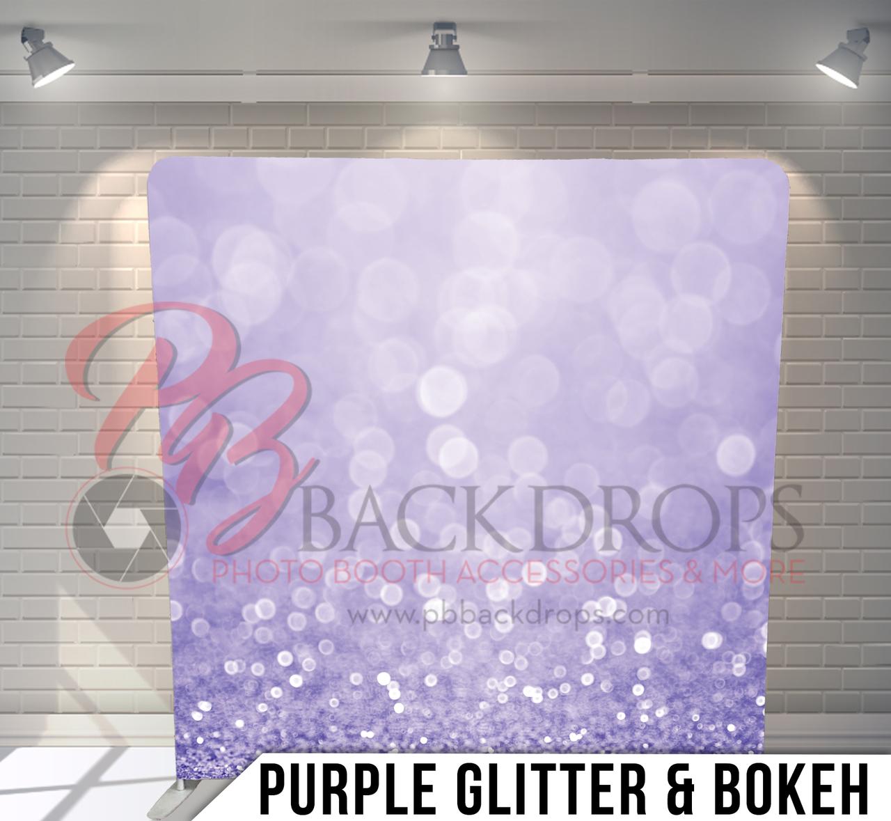 Purple Glitter - Open Air