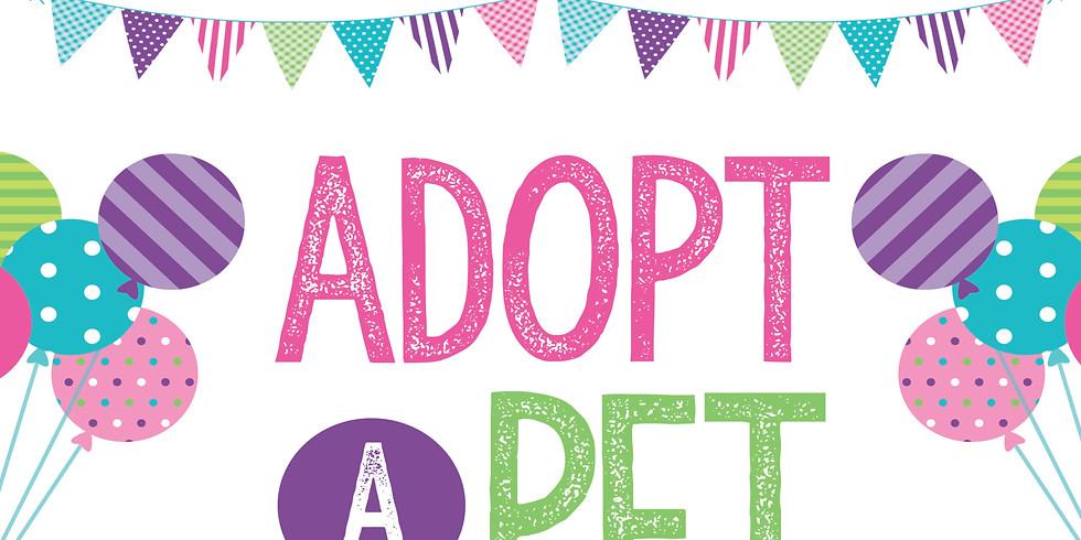 Adopt A Pet  10 am sign up