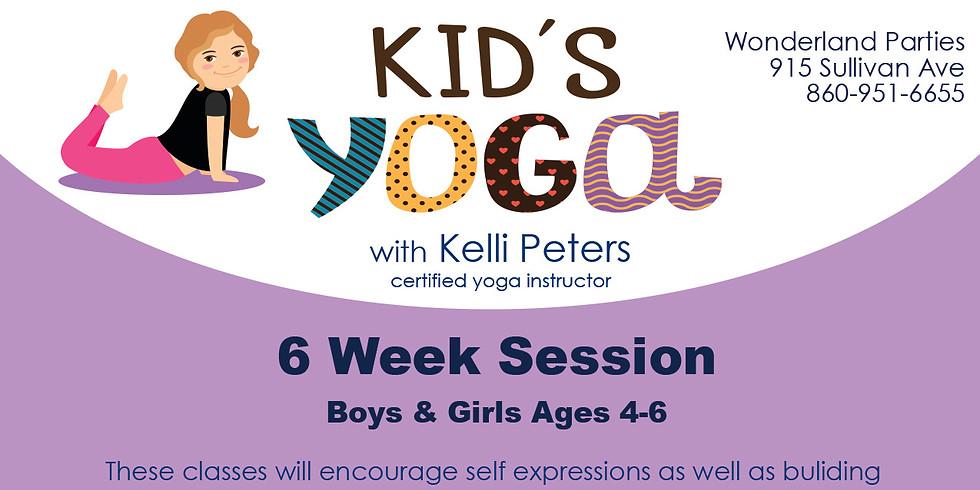 6 week Kids Yoga Class