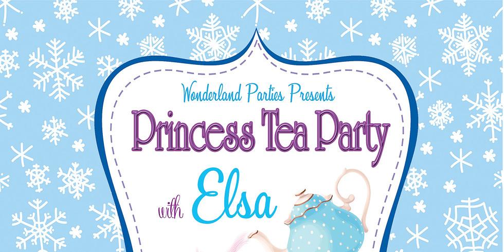 Elsa Tea Party