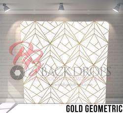 Gold Geometric - Open Air