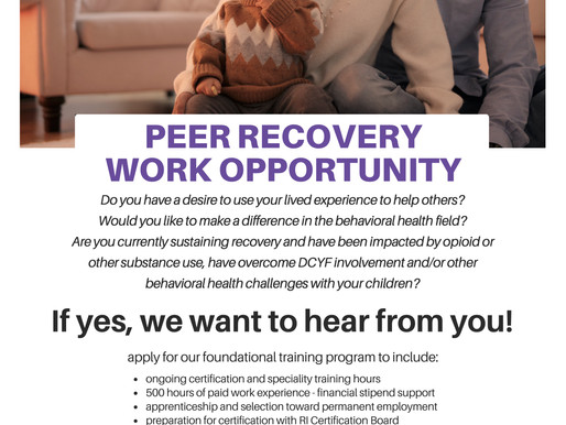 Help our opioid-impacted community with your lived experience
