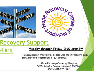 All Recovery Support Meetings