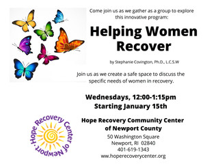 Women's Group Starts Weds 1/15!