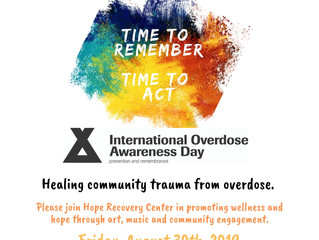 International Overdose Awareness Day 2019