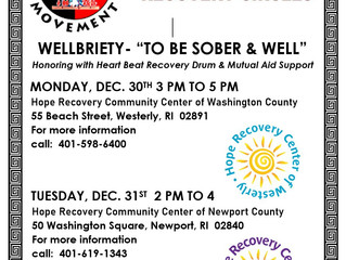 New Year Recovery Circles