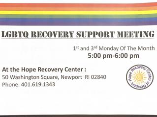 LGBTQ Meeting New Time