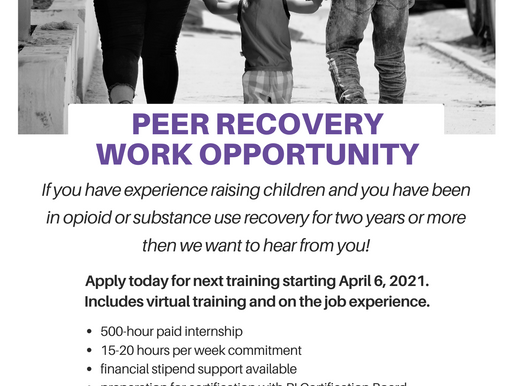Opioid Impacted Family Support Program - Next CPRS training starts April 6th