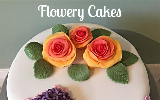 Flowery Cakes