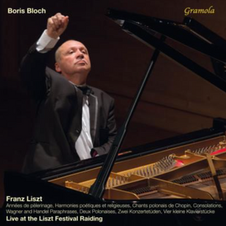 CD Cover: Best of Bloch