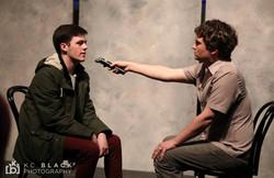 Stephen gets interviewed by Hunter