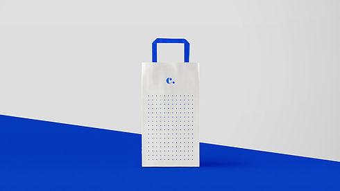 Papel de diseño de bolsa