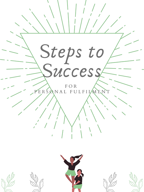 Golden Goals AND Steps to Success
