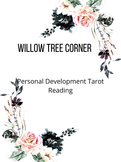 Personal Development Tarot Reading and Coaching session