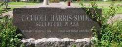 Carroll Harris Simms Sculpture Plaza
