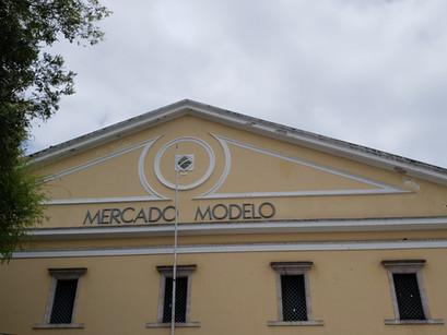 No Mercado Modelo de Salvador na Bahia