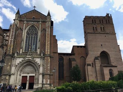 As igrejas de Toulouse