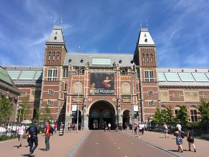 No Rijksmuseum em Amsterdam
