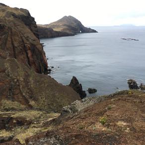 Na Ilha da Madeira, a Ponta de São Lourenço
