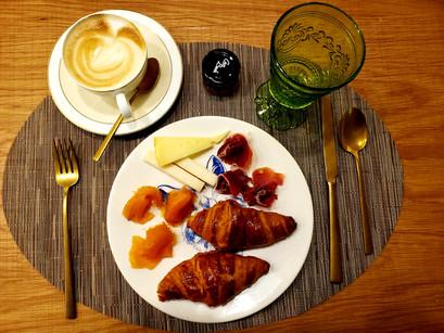O café da manhã do Gran Hotel Inglés, em Madrid