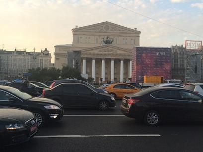 No Teatro Bolshoi