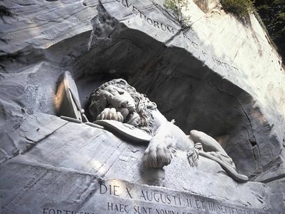 O leão de Lucerna