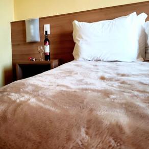 No hotel Vinocap, em Bento Gonçalves