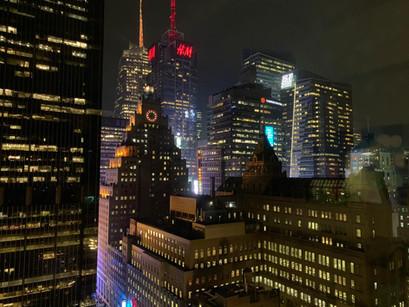 A vista de New York: o grande trunfo do hotel Row NYC