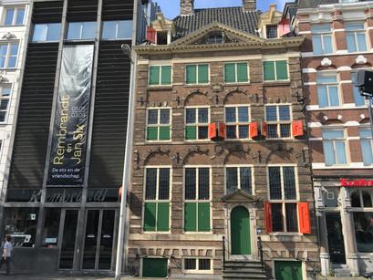 Na casa deRembrandt em Amsterdam