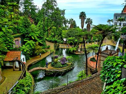 No Jardim Monte Palace Tropical, na Ilha da Madeira