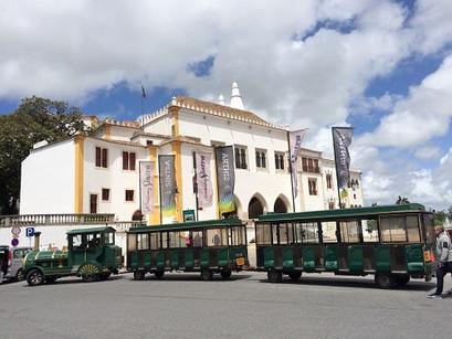 No centro histórico de Sintra