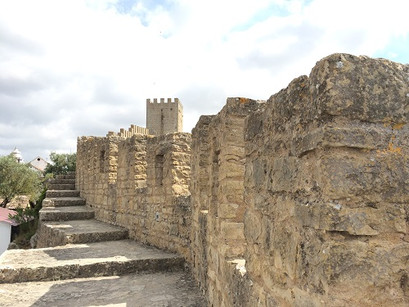 Nas muralhas de Óbidos