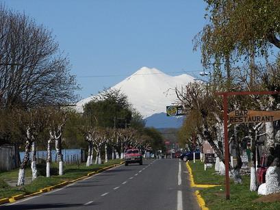 Nos caminhos de Vilcún, no Chile
