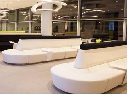 No novo lounge da TAP em Lisboa