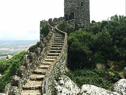 No Castelo dos Mouros