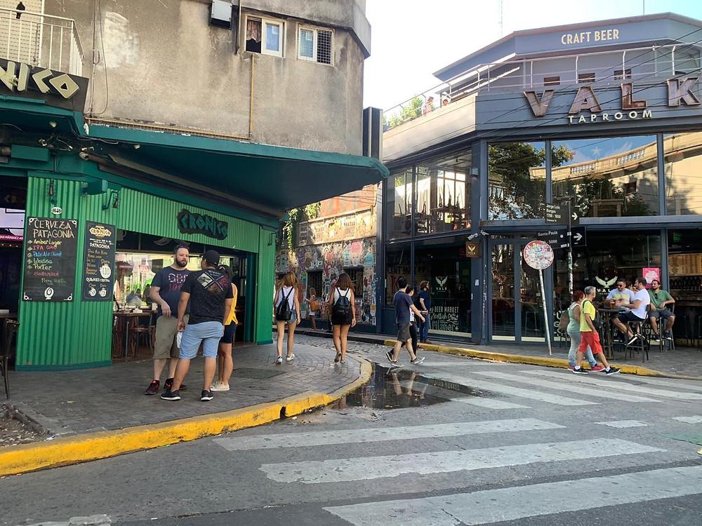 Fortaleza Racional Montgomery  Compras na Villa Crespo, em Buenos Aires