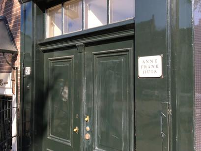 Na casa de Anne Frank em Amsterdam
